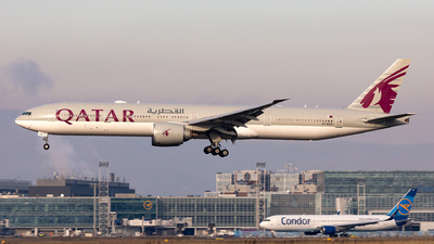 A picture of A7BAO - Boeing 7773DZ(ER) - Qatar Airways - © Sebastian Sowa
