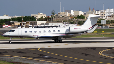 9H-DAO - Gulfstream G650ER - Emperor Aviation