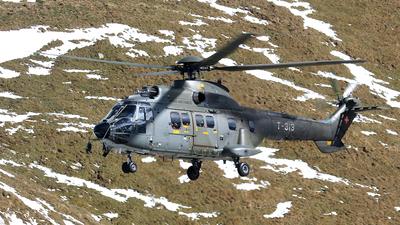 T-313 - A�rospatiale AS 332M1 Super Puma - Switzerland - Air Force