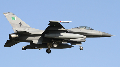 85726 - General Dynamics F-16A Fighting Falcon - Pakistan - Air Force