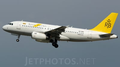 V8-RBR - Airbus A319-132 - Royal Brunei Airlines