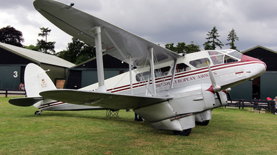 G-AGSH - De Havilland DH-89A Dragon Rapide - Private