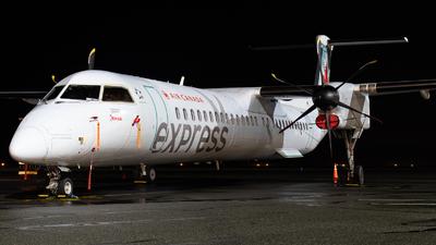 A picture of CGJZF - De Havilland Canada Dash 8400 - Air Canada - © CJMAviation
