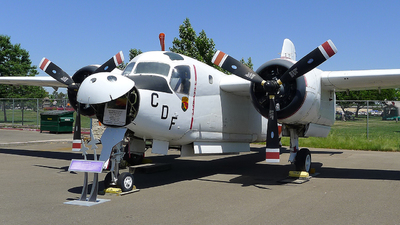 N412DF - Grumman TS-2A Tracker  - United States - California Department of Forestry