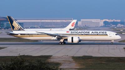 9V-SCD - Boeing 787-10 Dreamliner - Singapore Airlines