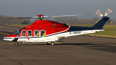G-SNSH - Agusta-Westland AW-139 - CHC Scotia Helicopters