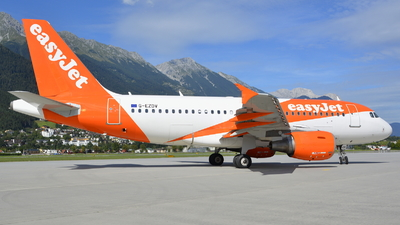 A picture of GEZDV - Airbus A319111 - easyJet - © Maximilian Gruber