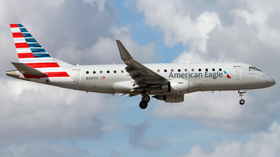 N431YX - Embraer 170-200LR - American Eagle (Republic Airways)