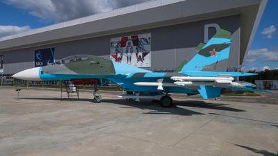 17 - Sukhoi Su-27UB Flanker C - Russia - Air Force