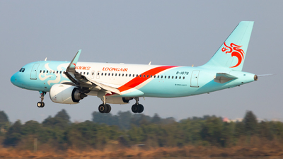 A picture of B1078 - Airbus A320251N - Loong Air - © Kerman