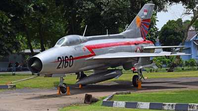 F-2160 - Mikoyan-Gurevich MiG-21F-13 Fishbed C - Indonesia - Air Force