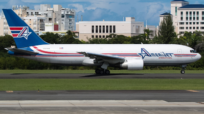 N743AX - Boeing 767-232(BDSF) - Amerijet International