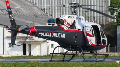 PR-SPG - Helibrás AS-350B2 Esquilo - Brazil - Military Police of São Paulo State