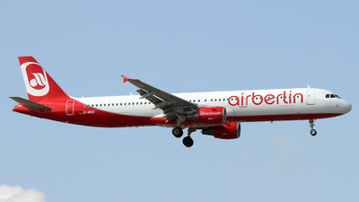 D-ABCC - Airbus A321-211 - Air Berlin