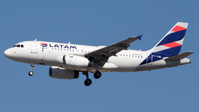 PT-TML - Airbus A319-132 - LATAM Airlines