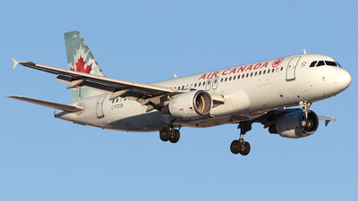 A picture of CFZUB - Airbus A320214 - Air Canada - © Mike MacKinnon
