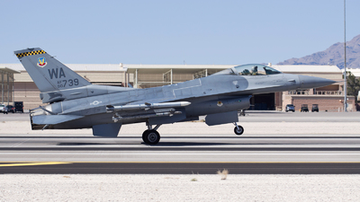 90-0739 - General Dynamics F-16CG Fighting Falcon - United States - US Air Force (USAF)