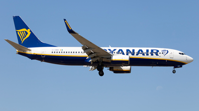 A picture of EIDWB - Boeing 7378AS - Ryanair - © Pedro Costa