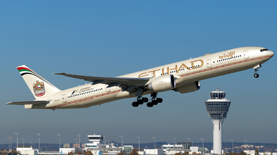 A6-ETJ - Boeing 777-3FXER - Etihad Airways
