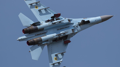 58 - Sukhoi Su-27 Flanker - Ukraine - Air Force