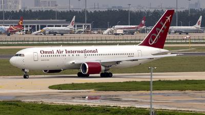 N225AX - Boeing 767-224(ER) - Omni Air International (OAI)