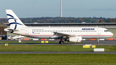 A picture of SXDVM - Airbus A320232 - Aegean Airlines - © marfi80