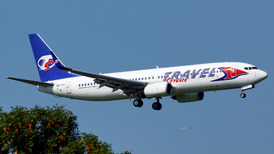 OK-TVF - Boeing 737-8FH - Travel Service