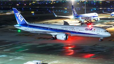 JA893A - Boeing 787-9 Dreamliner - All Nippon Airways (Air Japan)