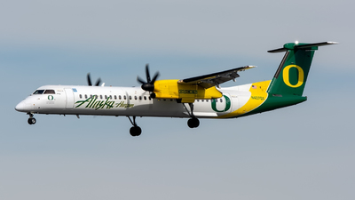 N407QX - Bombardier Dash 8-Q402 - Alaska Airlines (Horizon Air)