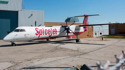 C-GHHX - Bombardier Dash 8-Q402 - SpiceJet