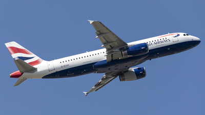 A picture of GEUUX - Airbus A320232 - British Airways - © X Pan