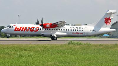 PK-WHU - ATR 72-212A(600) - Wings Air