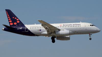 EI-FWG - Sukhoi Superjet 100-95B - Brussels Airlines (CityJet)