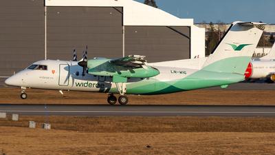 A picture of LNWIG - De Havilland Canada Dash 8100 - Wideroe - © Laszlo Fekete