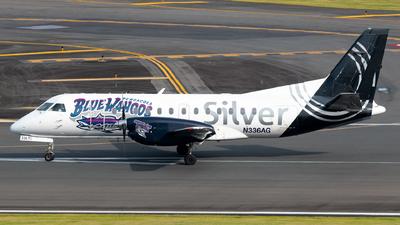 A picture of N336AG - Saab 340B - Silver Airways - © Carlos Nieves