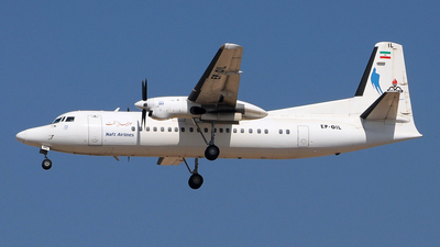 EP-OIL - Fokker 50 - Naft Airlines