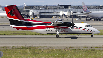 A picture of N891EA - De Havilland Canada Dash 8100 - [335] - © xuxinyi1000