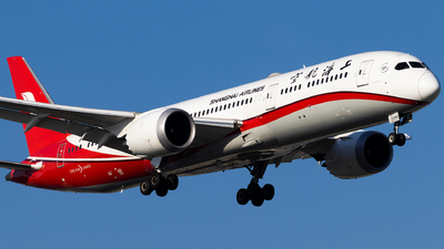 A picture of B208X - Boeing 7879 Dreamliner - Shanghai Airlines - © LOVE_PVG