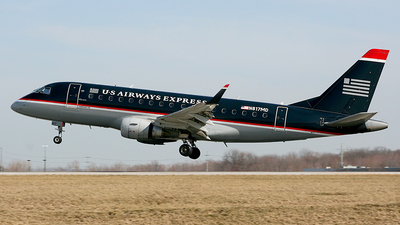 N817MD - Embraer 170-100SU - US Airways Express (MidAtlantic Airways)