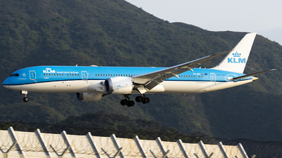 A picture of PHBHI - Boeing 7879 Dreamliner - KLM - © wang weilin