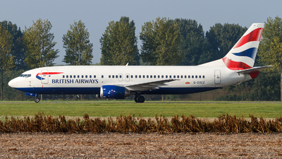G-DOCZ - Boeing 737-436 - British Airways