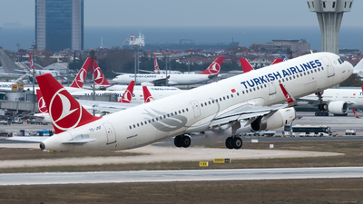 TC-JSF - Airbus A321-231 - Turkish Airlines