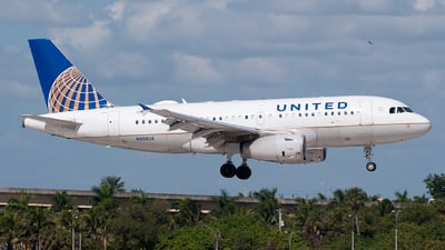 N898UA - Airbus A319-132 - United Airlines