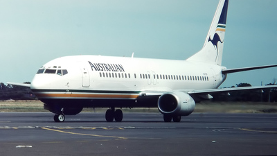 VH-TJF - Boeing 737-476 - Australian Airlines