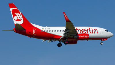 D-ABLB - Boeing 737-76J - Air Berlin