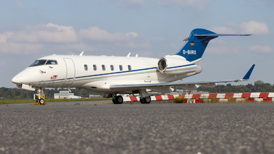 A picture of DBURO - Bombardier Challenger 300 - [20256] - © vwmatze