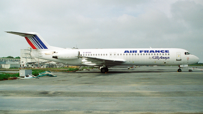 G-BYDO - Fokker 100 - Air France (Gill Airways)