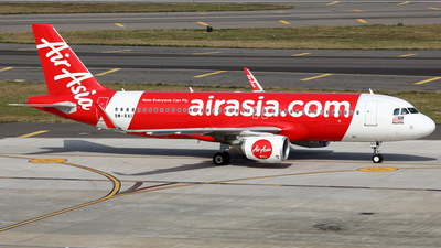 A picture of 9MRAI - Airbus A320216 - AirAsia - © Ethan Tang