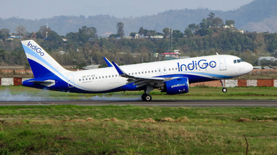 A picture of VTIVZ - Airbus A320271N - IndiGo - © norris_haobam