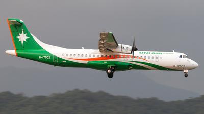 B-17002 - ATR 72-212A(600) - Uni Air